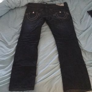 True religion jeans straight size 33
